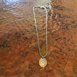 {Lucky Brand} Gold & Silver Necklace. 18 inches.